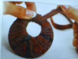 Membuat Kerajinan Kalung Mix Batik