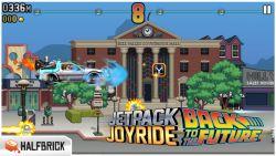 Jetpack Joyride Dapat Update Tema Back to The Future, Hadirkan Mobil Mesin Waktu Populer Delorean!