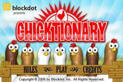 Belajar Vocabulary Bahasa Inggris Menyenangkan dengan Chicktionary