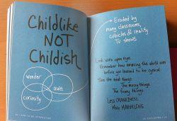Perbedaan Antara Childlike dan Childish