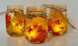Membuat Tempat Lilin dari Toples Bekas