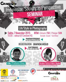 Seminar Lifestyle in Photography Bersama Seleb Instagram