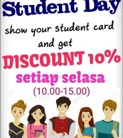 Teras Cafe Student Promo