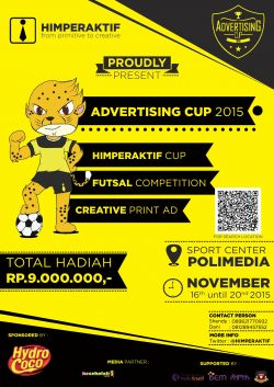 Advertising Cup 2015
