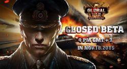 Gamego Akan Memulai Tahap Tes Close Beta untuk Game RTS Web Browser Berjudul Global War