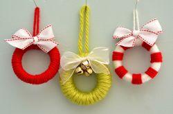 Membuat Wreath Natal Sederhana