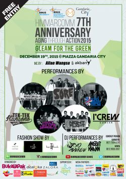 Himmarcomm 7th Anniversary Aging Through Action 2015, Gleam for The Green