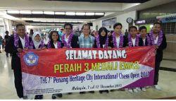Tiga Atlet Catur Indonesia Raih Tiga Medali Emas di Kejuaraan Catur Internasional