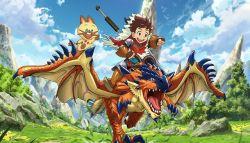 Anime Monster Hunter Stories Ride on Akan Memiliki 48 Episode dan Tayang Tahun Depan!