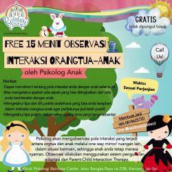 Free 15 Menit Observasi Interaksi Orangtua-Anak