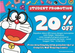 Diskon Pelajar Doraemon Expo
