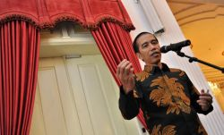 Suasana Silaturahim Presiden Jokowi dengan Ratusan Kepala Sekolah