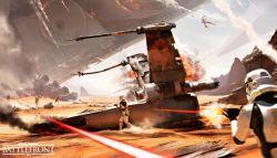 DLC Terbaru STAR Wars Battlefront Tidak Akan Berhubungan dengan The Force Awakens