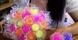 Cara Membuat Bunga Cantik dari Sedotan Plastik