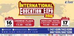 ICAN International Education Expo 2016