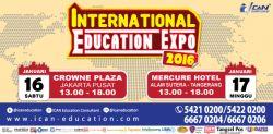 ICAN International Education Expo 2016