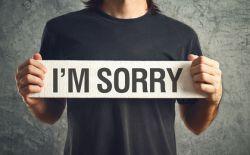 Contoh Percakapan Apologizing pada Bahasa Inggris