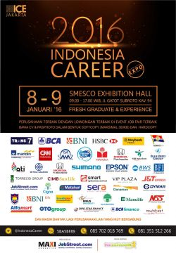 Indonesia Career 8-9 Januari 2016