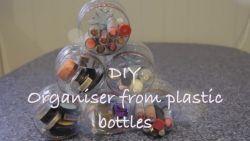Tempat Alat Make Up dari Botol Bekas?