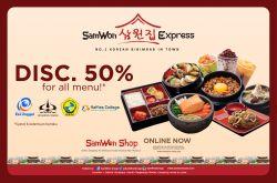 Promo Samwon Express Hingga 50 Persen