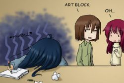 Tips Tips bagi Anda yang Terserang Art Block!
