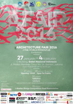 Architecture Fair 2016 The World without Us
