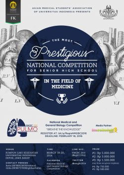 National Medical and General Biology Competition 2016