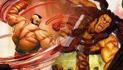 Inilah Aksi Karakter Berotot Kekar Zangief dan Necalli dalam Street Fighter V!
