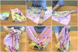 Tips Membuat Tas dari Kain Kerudung
