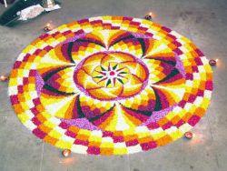 Rangoli, Seni Lukis Tradisional dari India