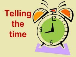 Cara Bertanya Mengenai Waktu dan Menyatakannya
