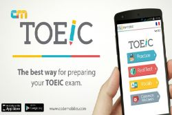 Belajar Toeic dengan Aplikasi CM Toeic!