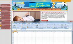 Tips Mudah Membuat Perhitungan Otomatis MS Excel 2007