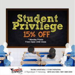 Promo 15 Persen Tandhok Ribs and Coffe untuk Pelajar dan Mahasiswa