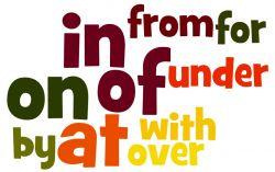 Perbedaan with, by dan Over pada Kalimat