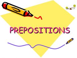 Beragam Preposition pada Kalimat