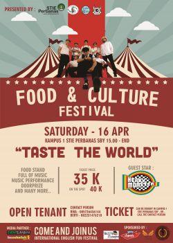 Food dan Culture Festival (Ieff 2016)