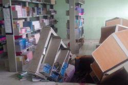 Ruang Perpus Ambruk, Guru dan Siswa Terluka