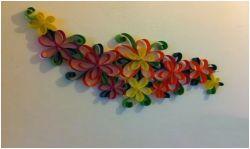 Membuat Hiasan Dinding Cantik dari Kertas Karton