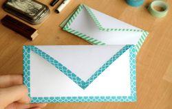 Membuat Amplop dengan Selotip Warna