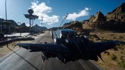 Keren! Mobil Terbang dalam Final Fantasy XV Nantinya Bisa Kamu Kendalikan Secara Penuh!