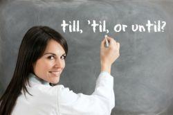 Penggunaan Till dan Until pada Kalimat