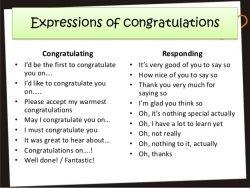 Cara Expressing Congratulations pada Kalimat