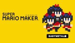 Lucu Banget! Karakter Babymetal Hadir di Game Super Mario Maker