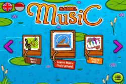 Mengenal Nada dan Alat Musik di Marbel Belajar Musik!
