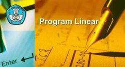 Pengertian Program Linear dan Model Matematika SMA Kelas XI