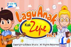 Wah, Lagu Anak Kak Zepe Vol. 2 Sudah Hadir untuk Gadget Anda!