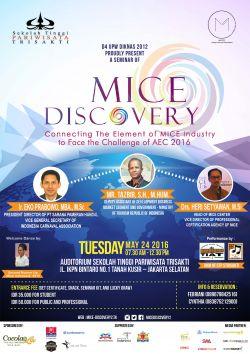 Mice Discovery by Sekolah Tinggi Pariwisata Trisakti