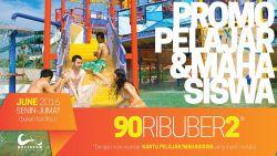 Waterbom Jakarta Promo 90ribu untuk 2 Orang!