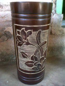 Cara Membuat Vas Bunga yang Unik dan Cantik dari Bambu